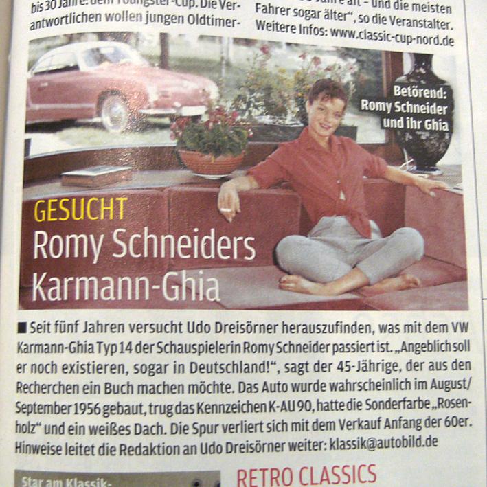 Je cherche de l'aide sur Karmann Ghia jusqu'en 1959 AutoBildKlassik_04-2013